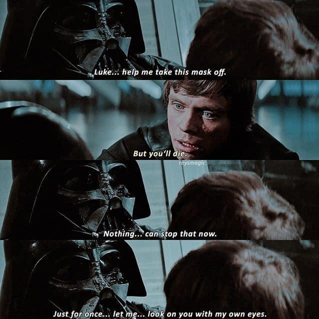 Darth Vader last words