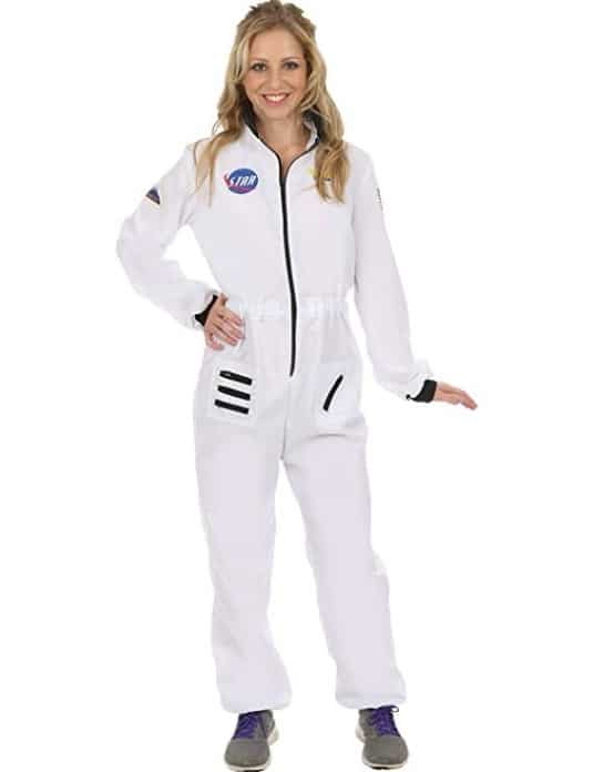 Orion Womens Astronaut Spacewoman Space NASA Fancy Dress Costume White