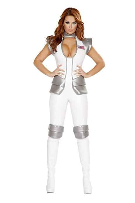 Sexy Women's 1pc Space Astronaut Commander Costume