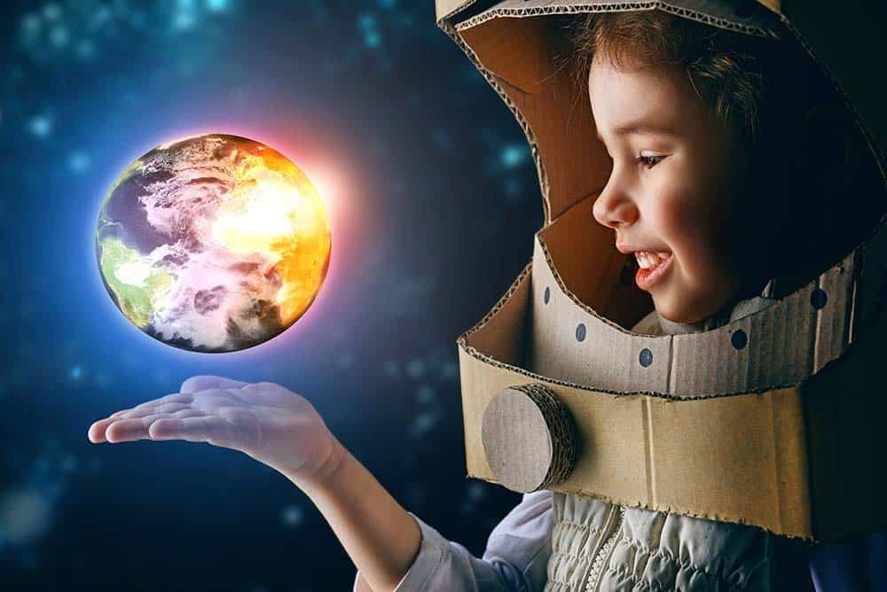 childrens astronaut costume girl