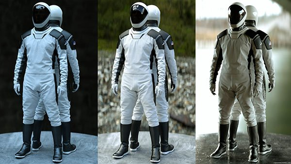 space-x space suit