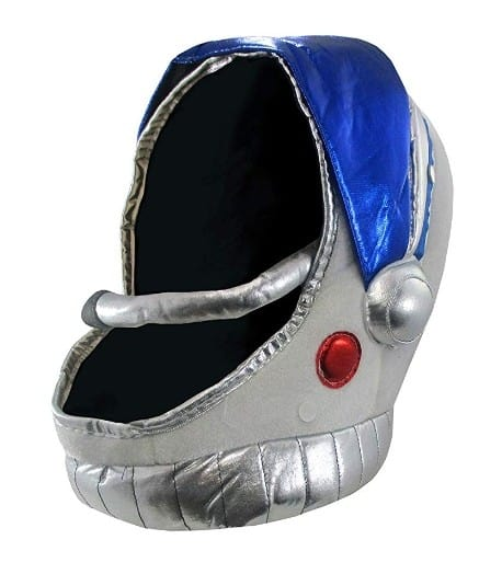 Plush Space Helmet with Visor by Nicky Bigs