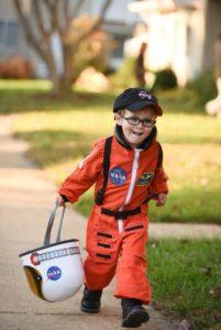 Halloween Kids Astronaut Costume