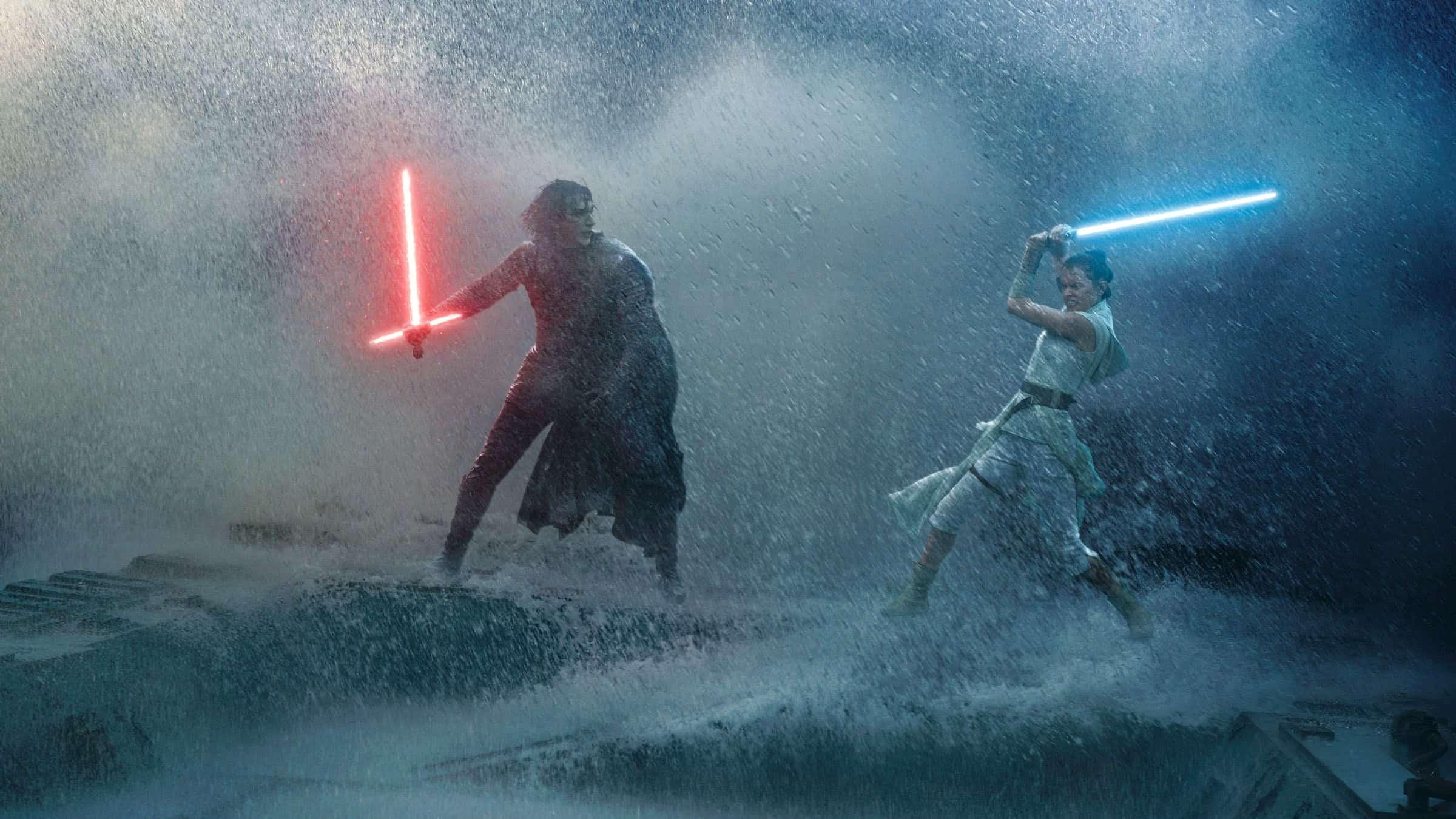 Rey VS Kylo Ren in Star Wars Episode 9